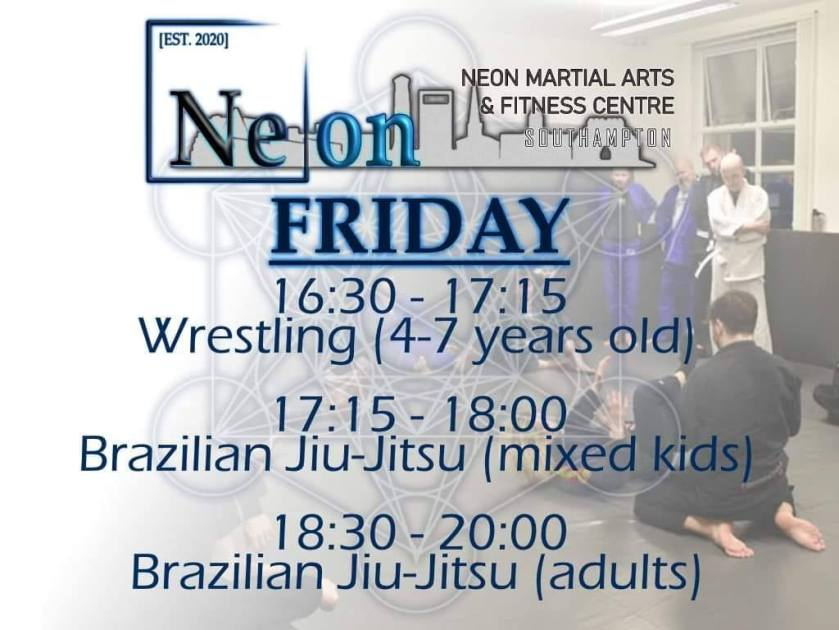 TIMETABLE – Neon Martial Arts & Fitness Centre
